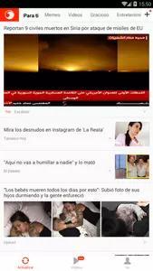 Noticias Águila Screenshots 1