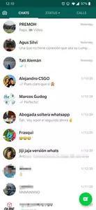 WhatsApp Messenger Screenshots 1