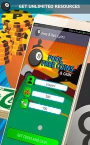 Free Coins for 8 Ball Pool 2019 Screenshots 2