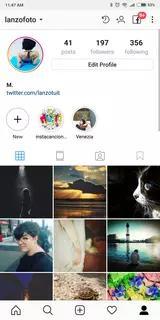 Instagram Screenshots 1