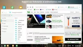 Andromium OS Screenshots 1