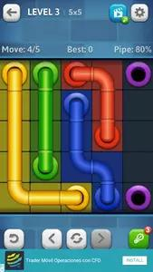 Line Puzzle: Pipe Art Screenshots 2