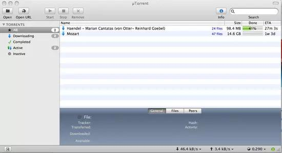 uTorrent Screenshots 1