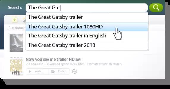 MediaGet Screenshots 2