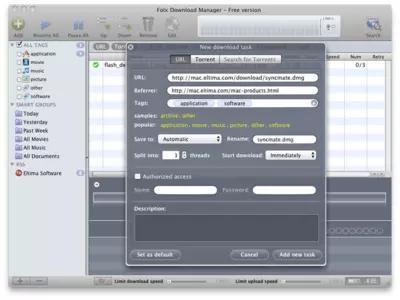 Folx Screenshots 1