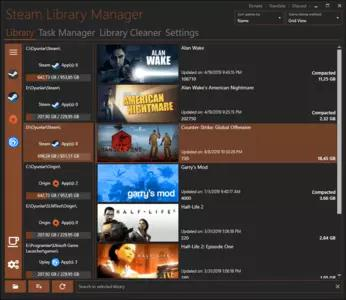 Steam Library Manager Screenshots 2