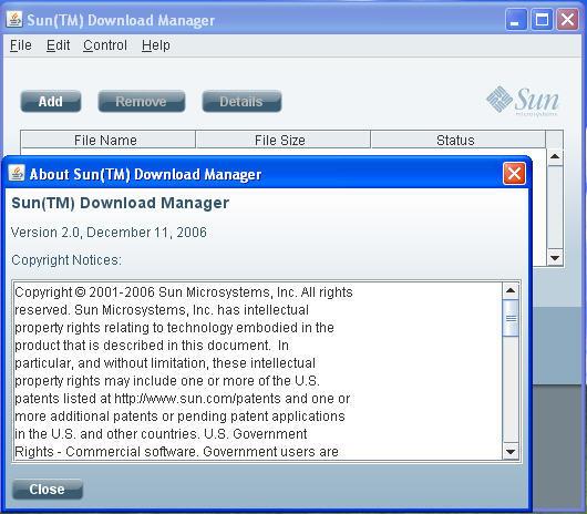 Sun Download Manager Screenshots 2